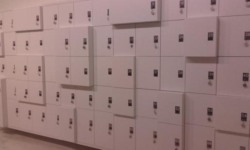 Taquillas Museo Carmen Thyssen, Málaga, 2017.