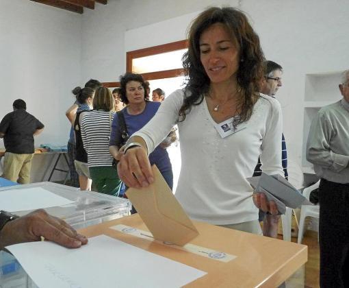 Malena Estrany tiene la llave de gobernabilidad en Pollença .