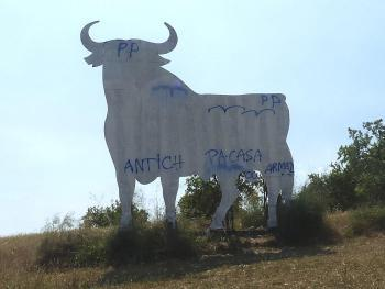 Este es el nuevo aspecto del toro.