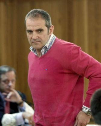 El etarra Iñaki de Rentería, durante un juicio en 2010.
