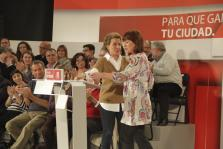 ALFREDO PEREZ RUBALCABA EN PALMA EN EL MITIN PARA PRESENTAR A LOS CANDIDATOS DEL PSOE