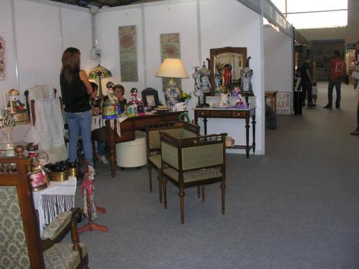 Un detalle de la pasada edición de la Mostra del comercio y de la industria del mueble de Manacor.