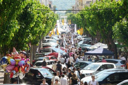 El domingo, la feria y sus múltiples exposiciones se extenderán por todo el centro de la ciudad.