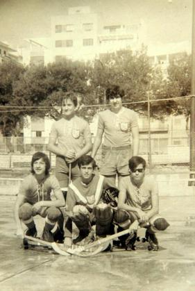 En la imagen, el infantil del Espanya de 1971, pioneros de la entidad.