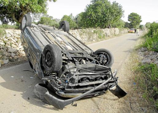 El siniestro se produjo en la carretera de Llucmajor-Cala Pi.