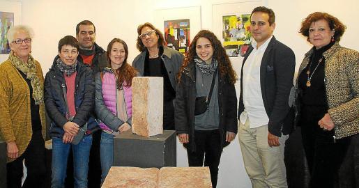 Margarita Martorell, Cati Guasp, Antoni Costa, Patricia Espinosa, Pilar Cerdá, Anna Costa, Daniel Pirés y Francisca Llabrés.
