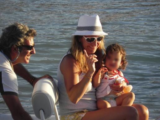 La ex tenista Arancha Sánchez Vicario, de vacaciones en Eivissa el año pasado.