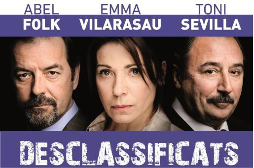 Un trío de actores reconocidos en la escena catalana protagoniza 'Desclassificats'.