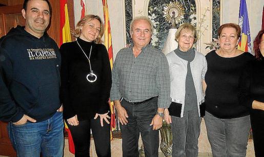 Javier Simón, Laurence Guimier, Fernando Garrido, María Luisa Beltrán, Maribel Ascaso y María Victoria López.