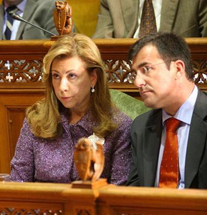Maria Antònia Munar y Miquel Nadal, en una imagen de archivo.
