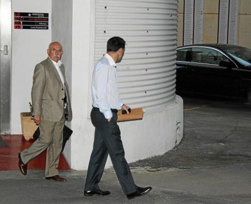 Serra Ferrer y Braulio Vázquez estuvieron reunidos durante una hora y media en Son Moix.