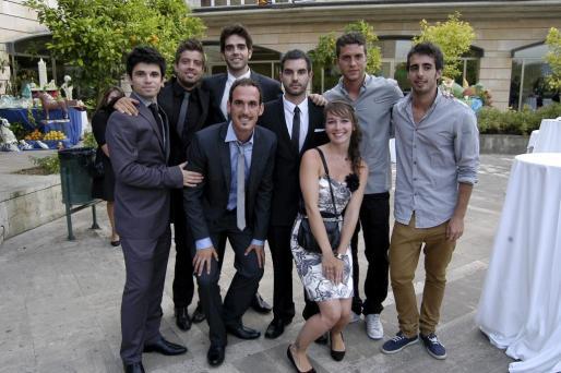Alex de Haro, Luis Vizcaíno, Pau Vanrell, Miquel Horrach, Maties Covas, Manon Keuren, Joan Cardona y Jaume Gelabert.