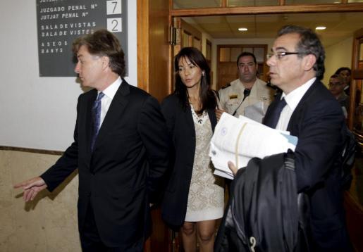 Los Hore, esta mañana en los juzgados.