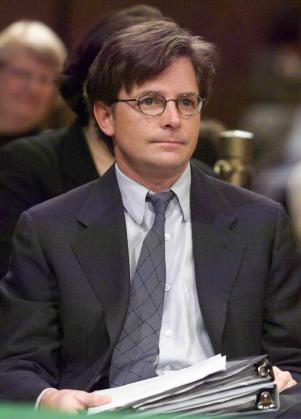 Michael J. Fox, actor americano.