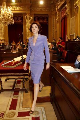 Isabel Oliver, liderando estilo.