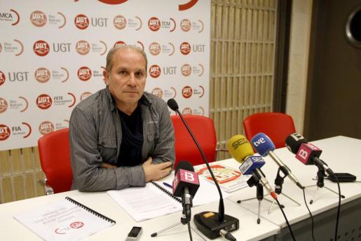 El secretario de Acción Sindical de UGT, Manuel Pelarda.
