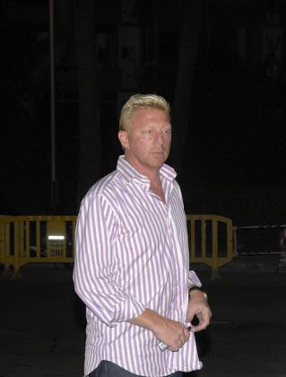 Boris Becker, en una imagen de archivo en Puerto Portals.