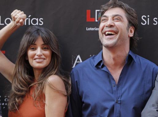 """Penélope Cruz y Javier Bardem asisten a la inauguración de la Calle de las Estrellas, una suerte de """"paseo de la Fama"""" madrileño."""