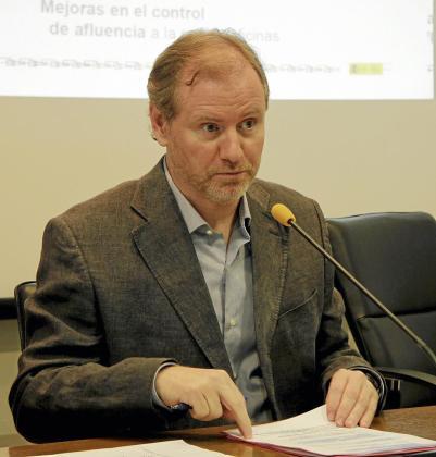 Ramon Socías, delegado del Gobierno.