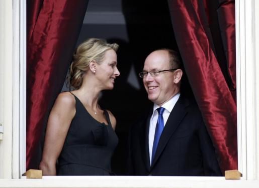 La pareja, aparentemente feliz en una de sus apariciones públicas.