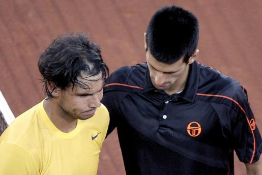 Djokovic y Nadal, en uno de sus ya clásicos enfrentamientos.