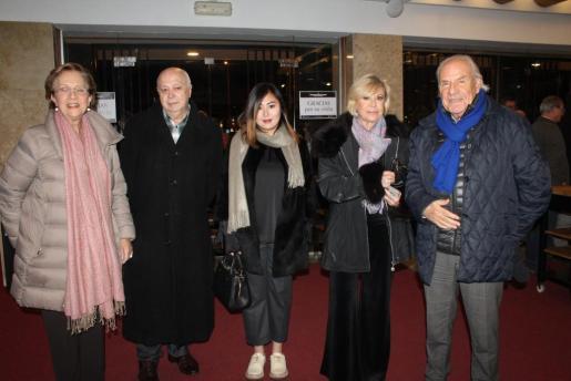 Francisca Bennássar, Joan Guaita , Man Minnie Ho, Isabel Izquierdo y Pep Piña.