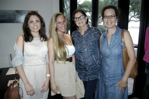 Carmen Gestoso, Patricia García, Betty Gold y Gina Vázquez.