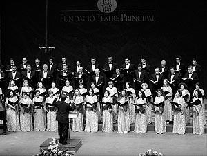 El Cor de la Fundació Teatre Principal ha explicado al resto de formaciones la situación.