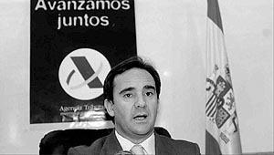 Raúl Burillo, delegado de la Agencia Tributaria en Balears. Foto: JOAN TORRES