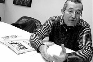 Bernat Pujol, director del «Via Crucis» y «L'Adoració dels Reis». Foto: TERESA AYUGA
