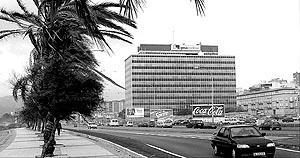 Edificio central de la Compañía de Gas y Electricidad (GESA) en Palma.