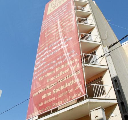 Imagen de Hotel Playa Náutico, que fue derribado en Platja de Palma.