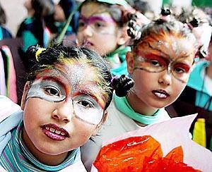 El rostro del Carnaval en sus facetas del más genuino sabor local. Foto: TERESA AYUGA