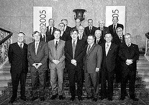 Los ministros de Finanzas y los bancos centrales del G-7 se reunieron en Londres.