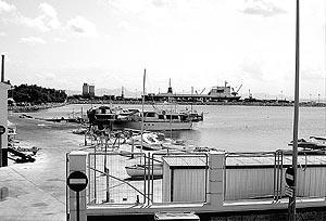 Las obras de ampliación del puerto comercial de Alcúdia comenzarán el próximo mes de octubre.