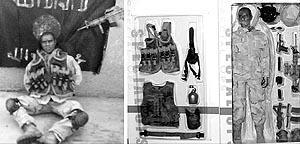 Las agencias difundieron la fotografía de un 'madelman' como si fuera la de un marine secuestrado.