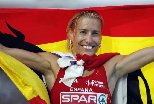 La atleta Marta Domínguez, en una imagen de archivo.