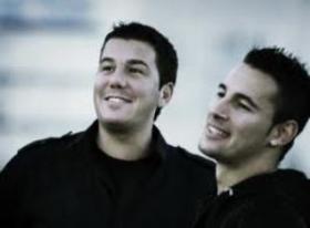 foto promocional del duo Andy y Lucas.