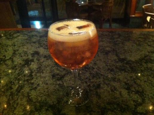 El cóctel Gin Pasión propuesto por Felipe Daviu.