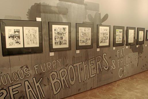 Las exposiciones de cómic en el Casal Solleric son muy importantes para la industria local.