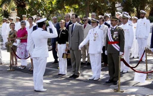 Lavilla saludó a las autoridades, encabezadas por el president, José Ramón Bauzá.