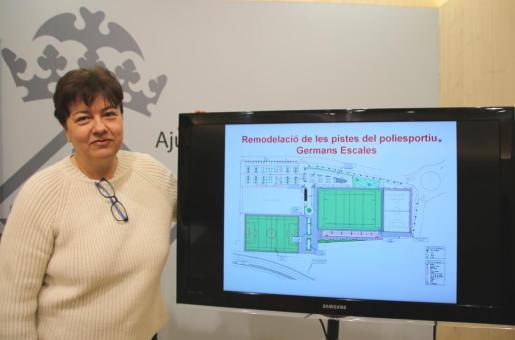 La edil ha presentado este proyecto, con un coste cercano a los dos millones de euros, en rueda de prensa.