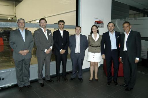 Rafael Sanroman, José María Serra, Alberto Luengo, David Sánchez, Irantzu González, Tomás Villen y Jaume Nadal.