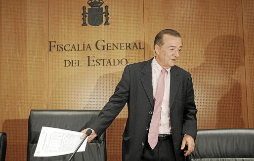 Bartolomé Vargas, fiscal de la Sala Coordinador de Seguridad Vial, ayer en rueda de prensa.