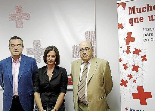 Joan Batle, Juana Lozano y Miquel Alenyà.
