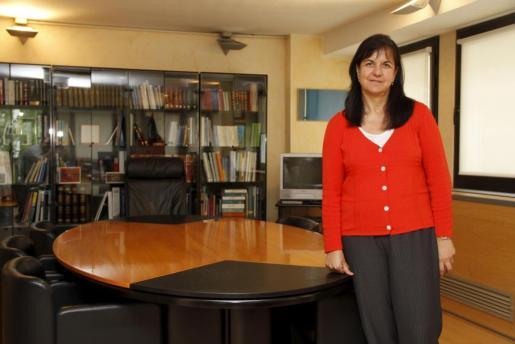 Carmen Castro, en su despacho tras tomar posesión del cargo el pasado mes de junio.