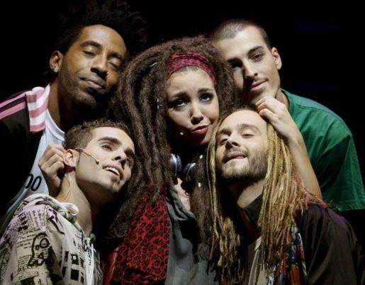 Imagen promocional del musical.