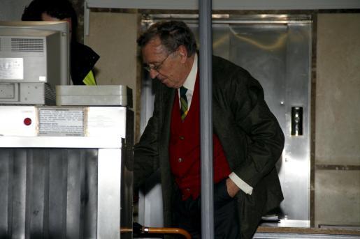 Alemany se presentó ayer tarde en los juzgados para declarar como imputado.