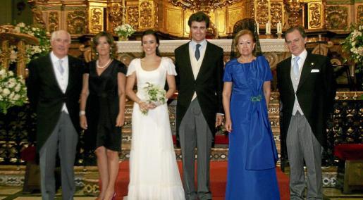 Valentín Galdós, Carmen Iztueta, Natalia Galdós, Gonzalo Miranda, Maite Arzac y Rafael Miranda.