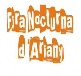 """Cartel promocional de la """"Fira Nocturna d'Ariany"""""""